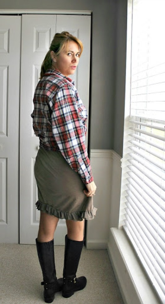 plaid-shirt-brown-dress-2