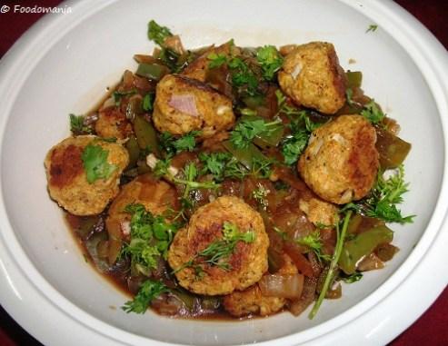 Baked Potato Manchurian