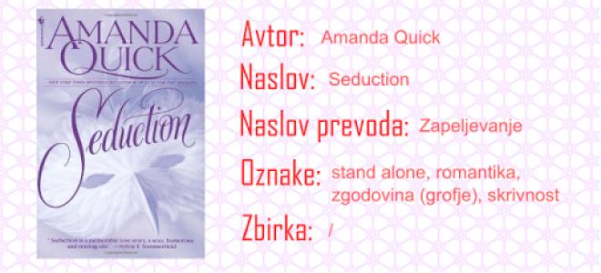 Amanda Quick - Seduction