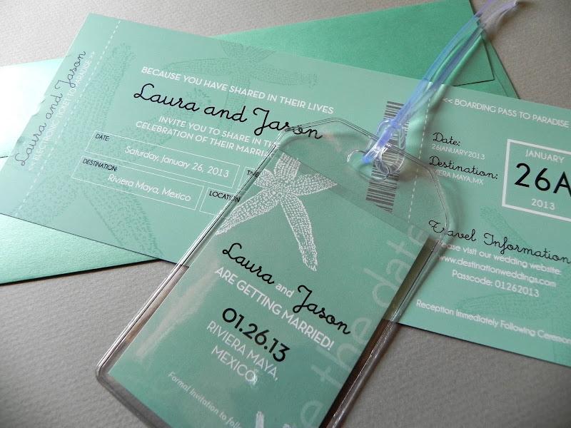 My Starfish Destination Wedding Invitations Have Matching