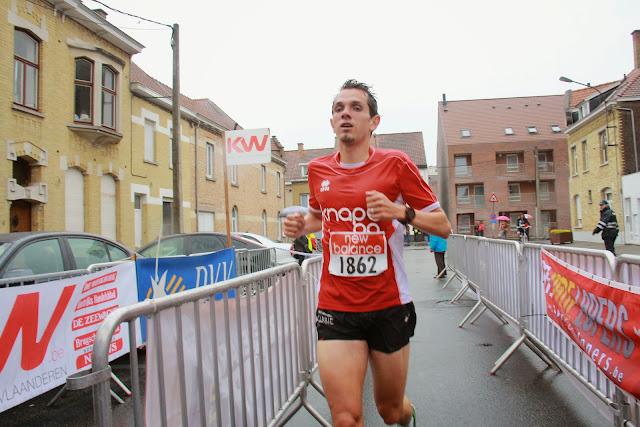 winnaar jogging Krottegemse Corrida
