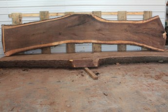 Walnut 219-4  Length 17' Max Width (inches) 48 Min Width (inches) 29 Notes 12/4 Kiln Dried