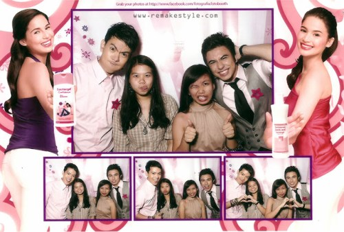 Candy Style Awards 2012 photobooth by Lactacyd with Candy Cuties. Marinella Rose and Norlyn A.