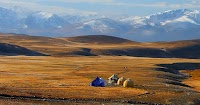 Deosai Plains in autumn