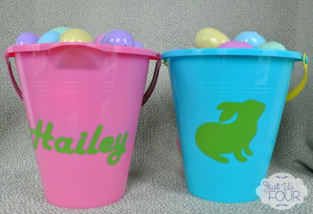 Customized Easter Egg Baskets