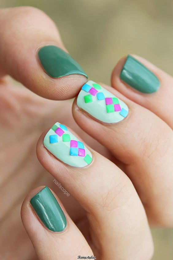 nail art 2018 simple and pretty