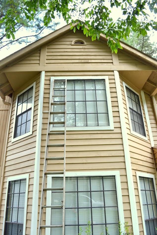 front exterior siding repair