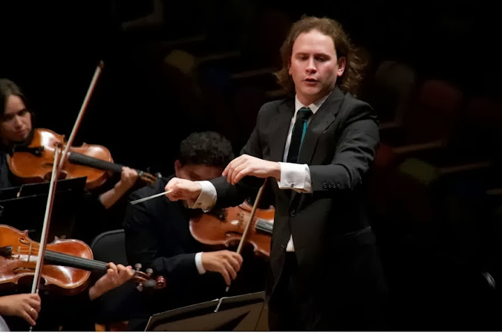 Vásquez makes his debut as conductor of the Stavanger Orchestra
