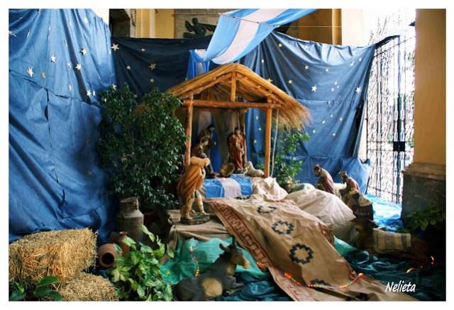 Iglesia Catedral Christmas Scene