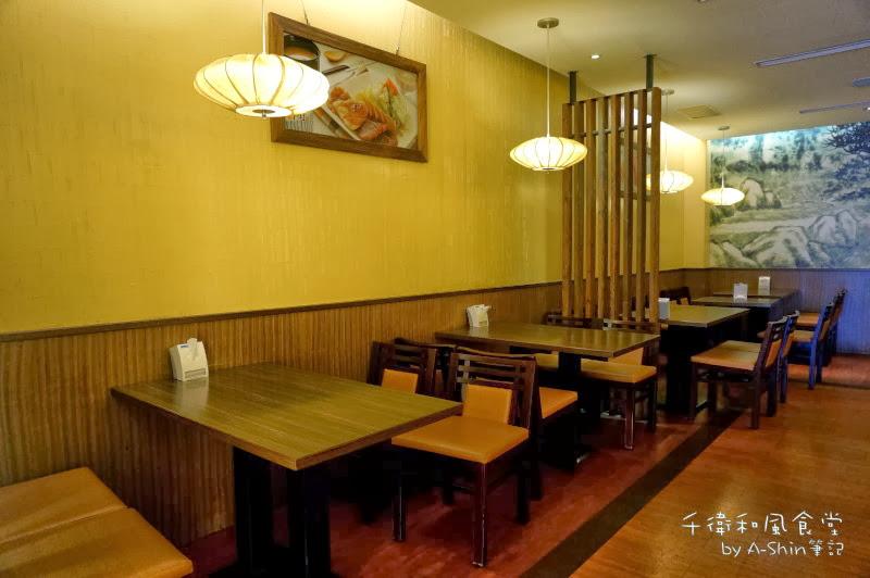 千衛和風食堂(中科店) 座椅佈置及座位