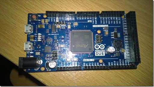 Arduino due thumb1 - Sviluppare con Arduino due