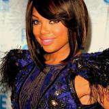 Short Hairstyles With Bangs For Black Women trendy 2015
