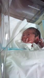 2年前、産まれたばかりの次男