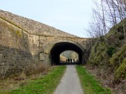 The main A515 crosses the Tissington Trail here. Alsop En Le Dale Station lies just beyond the other side of the tunnel