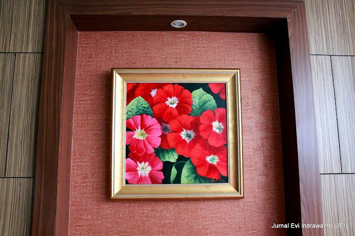 Sebuah pojok di Hotel Grand Zuri BSD