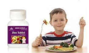 Manfaat Zinc Tablet For Children Green World