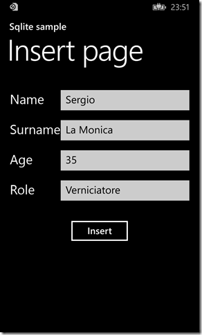 IMMAGINE 1.7 thumb1 - Parte due, Sqlite in Windows Phone 8.1