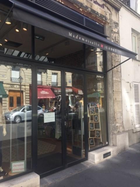 Ein paar Lieblingsläden in Paris