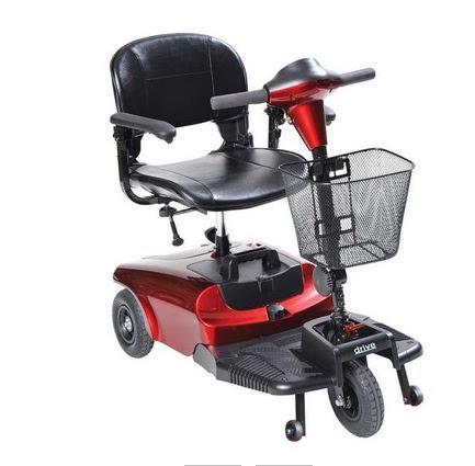 motorised scooter for the elderly