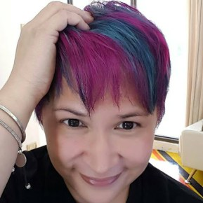 jing monis hair salon crazy funky wild colors manila