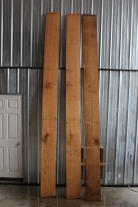 "609 W Oak Quarter Sawn Boards - 2 11 Pcs.  12.25"" Wide x 13' Long"