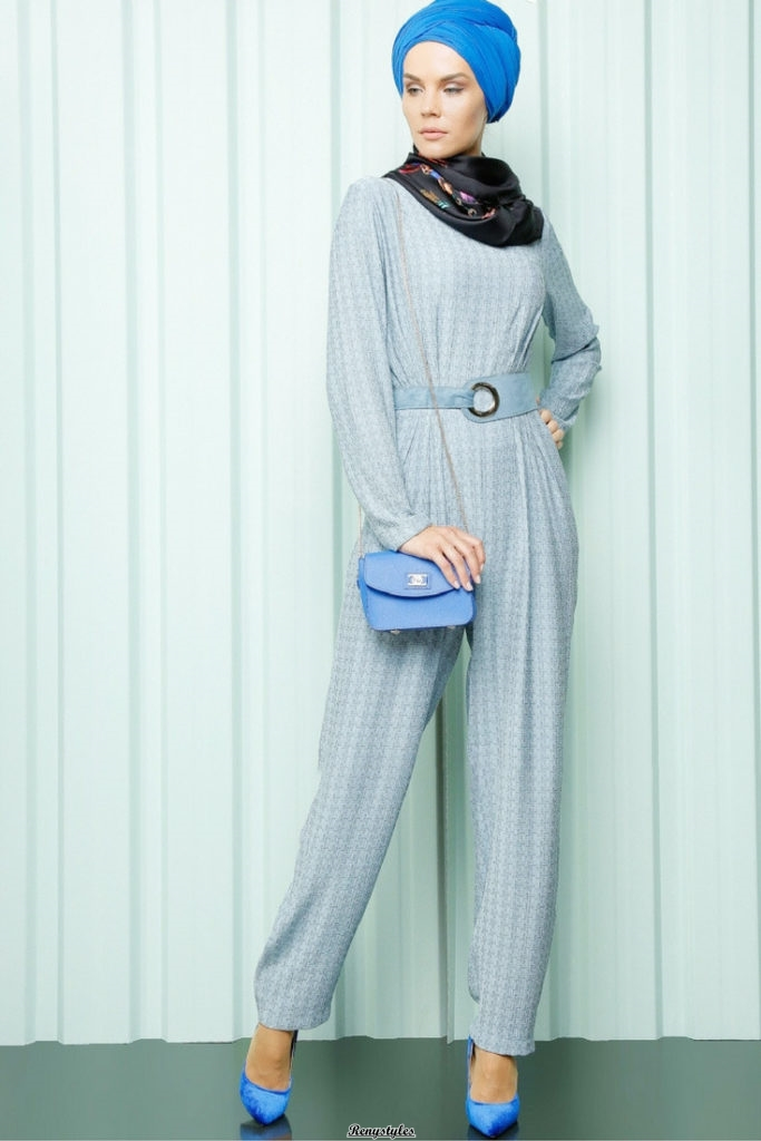 90b996d5da Latest and Modern Jumpsuit with Hijab - Reny styles