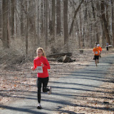 Princeton Athletic Club Institute Woods 6K April 5, 2014 Women's winner - Elizabeth Fries - Princeton - 27:46