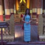 beauty of stylish myanmar dress 2017