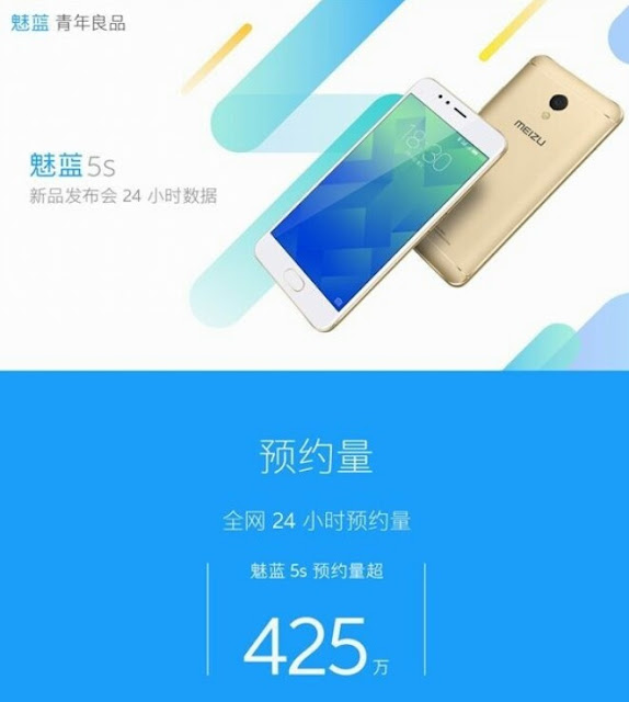 Meizu M5s Hits 4.2 Million Registrations In One Day For Flash Sale 1