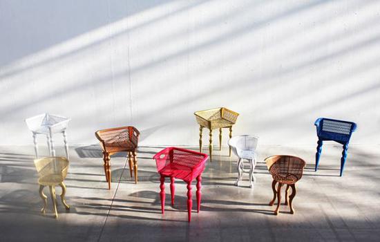 Originales sillas.