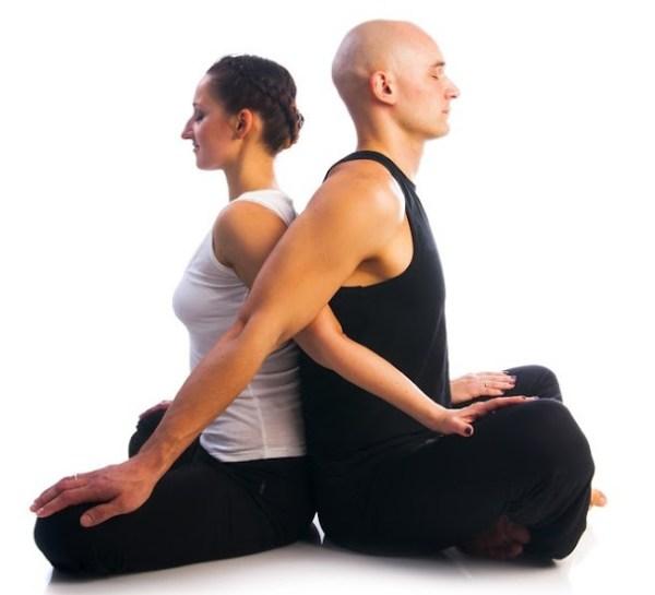 Йога на двоих фото упражнений и описание асан