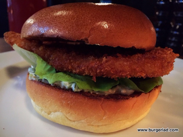 Hawksmoor Fish Burger