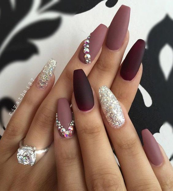 LATEST SHAPES OF WINTER NAIL ART IN 2018 | Pretty 4