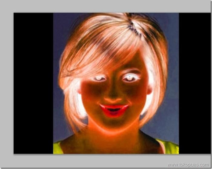 efek foto thermal photoshop