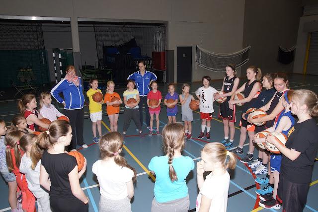 meisjeshappening basket