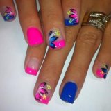 summer nail art design from instagram