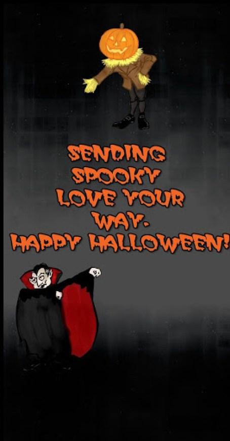 creepy halloween sayings