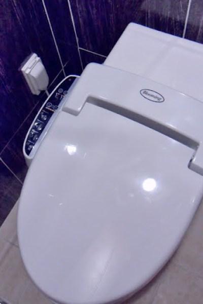 fancy korean toilet