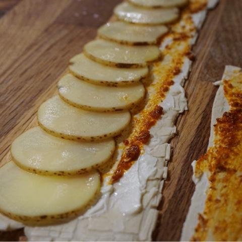 potatisrosor med smördeg