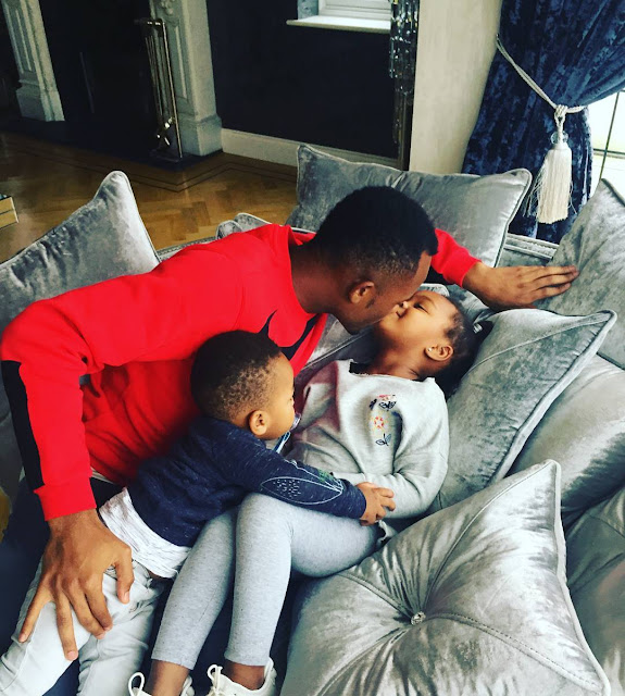 Jordan and his children