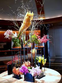 Lobby at the Mandarin Oriental