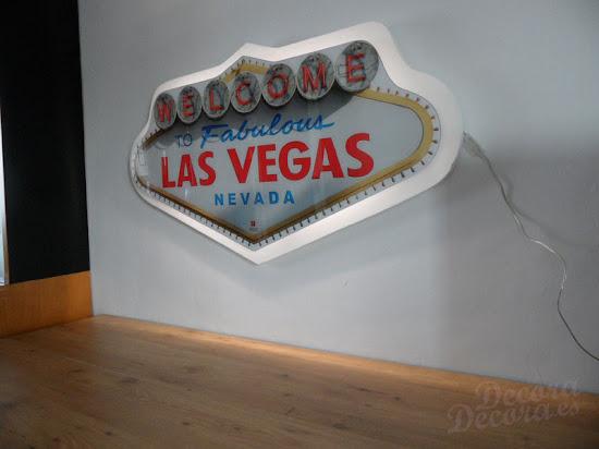 Cartel de Las Vegas cuadro.