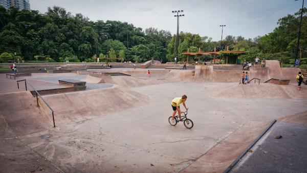 East Coast Park Bike Park