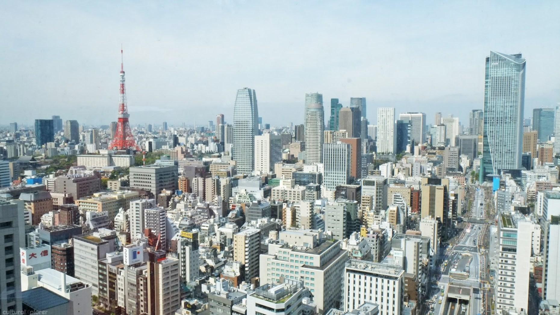 Park Hotel Tokyo window