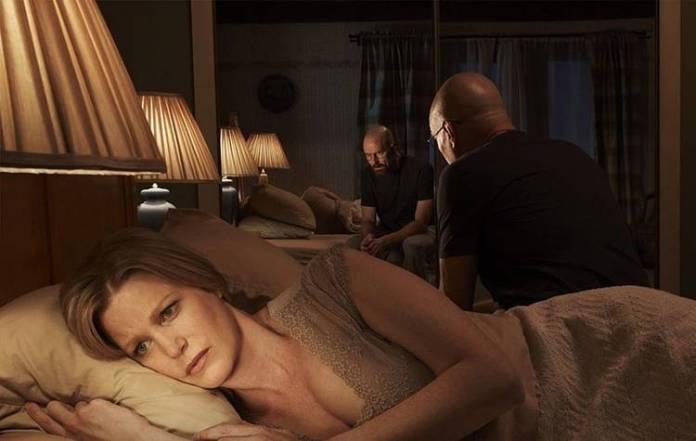 """Anna Gunn y Bryan Cranston fueron marido y mujer en la serie """"Breaking Bad"""""""