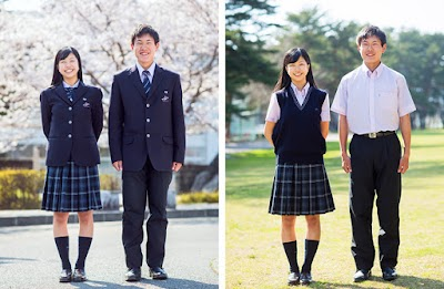 花巻東高等学校の女子の制服