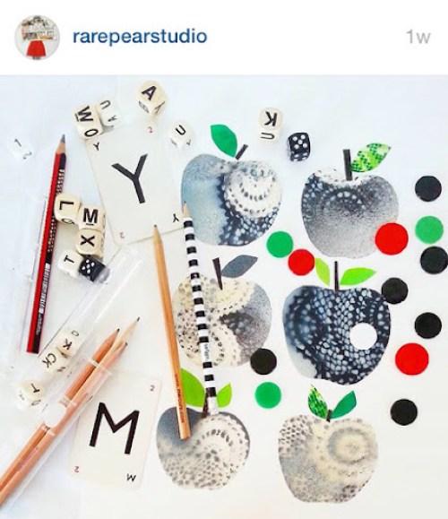 RarePearStudio instagram - collage