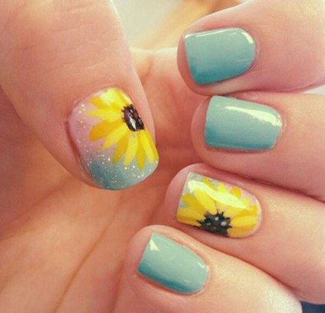 fashionable and pretty summer nail art 2016  styles 7