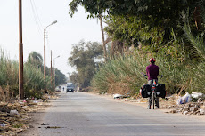 Taking the small roads out of Beni Suef