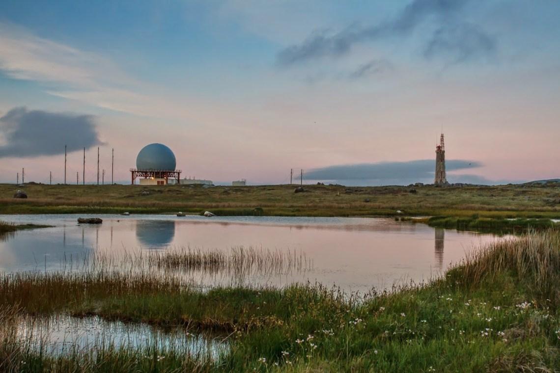 Icelandic coastguard radar station